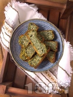 Лесен спаначен хляб с яйца и брашно  - снимка на рецептата